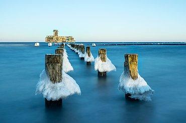 Na pożegnanie zimy...Lody już spłynęły