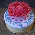 Torcik dla Mamusi z kwiatem #torcik #okazjonalny #dla #mamusi #pepnia #kwiaty #torcik z #kwiatem