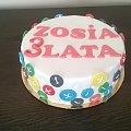 Torcik z guzikami #tort #urodzinowy #trt #guziki #torty #okazjonalne