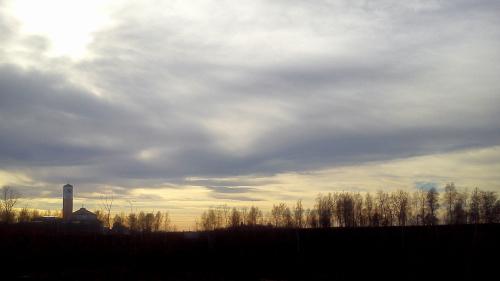 Niebo w krakowskich Łagiewnikach