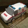 AMBULANS #karetka #ambulans #torty #okazjonalne #torty #medyczne #ambulance