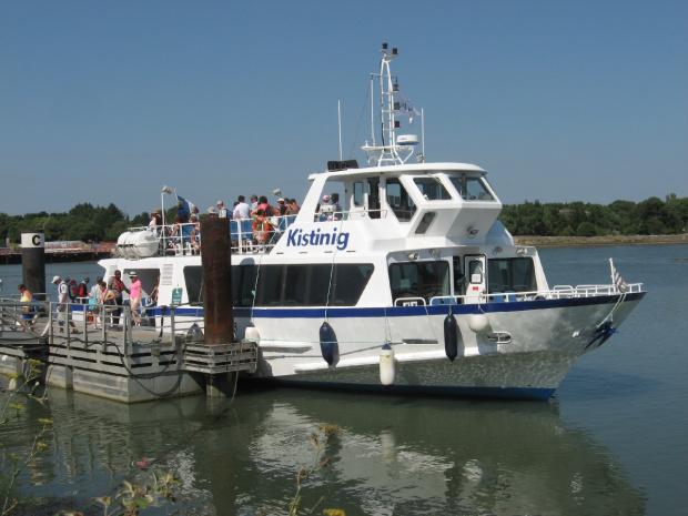 Nasz statek zacumował w porcie Vannes #Golf du #Morbihan