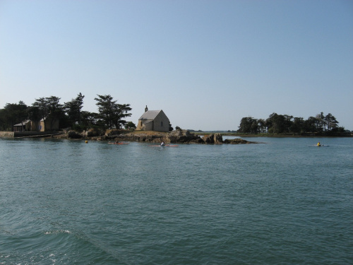 Kaplica Rybaków #Golf du #Morbihan