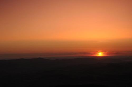 Wschód z Mogielicy-Beskid Wyspowy