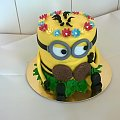 Pani Minionek #minionki #minionek #pani #minionek #tort #okazjonalny #tort #dla #dzieci