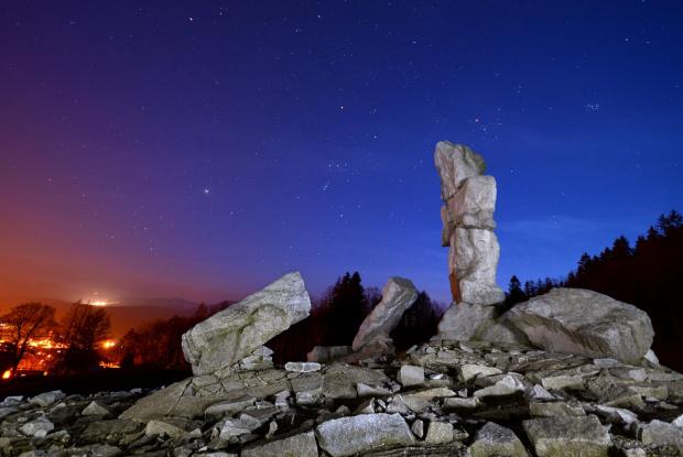 Nocne niebo nad Lázně Jeseník z dedykacją dla dorota84 :))