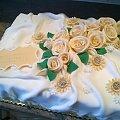 Tort na zakończenie roku szkolnego #tort #okolicznościowy #tort do #szkoły #tort #róże