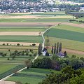 widok z wiezy na strone francuska