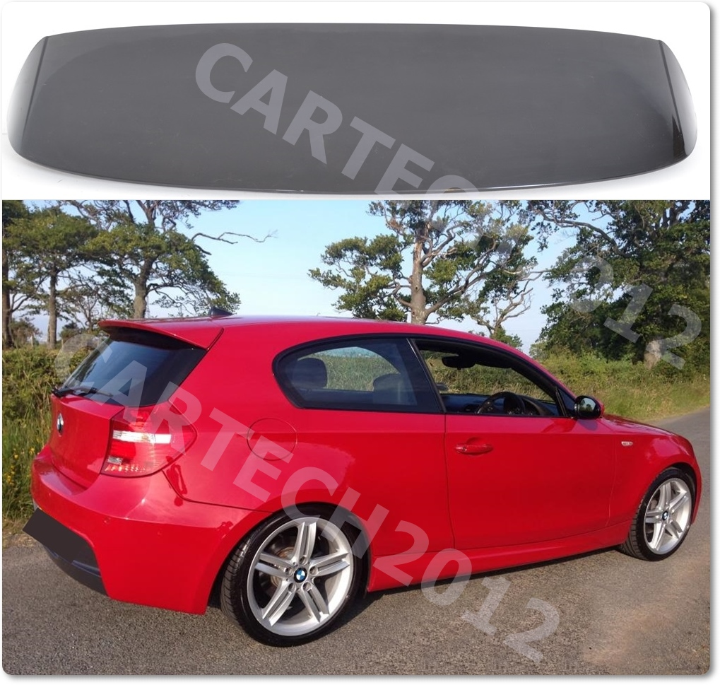 bmw e81 e87 1 series aero roof spoiler tuning ebay. Black Bedroom Furniture Sets. Home Design Ideas