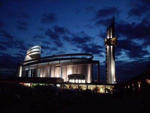 Księżyc w krakowskich Łagiewnikach