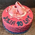 Torcik dla Baletnicy #tort #dla #baletnicy #baletnica #tort #okazjonalny #baletki #tort z #baletkami