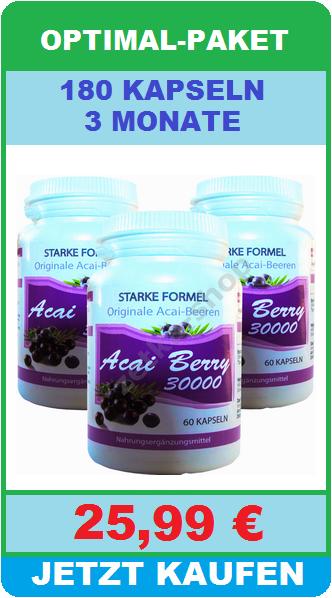 27000mg 60 kapseln brasilianische acai berry extrakt. Black Bedroom Furniture Sets. Home Design Ideas