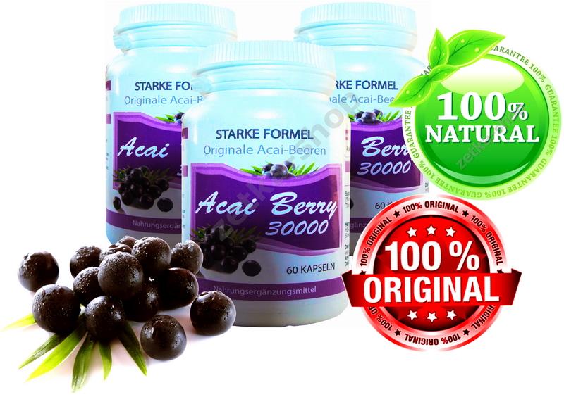 81000 mg brasilianische acai berry extrakt 180 kapseln. Black Bedroom Furniture Sets. Home Design Ideas