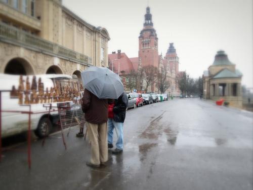 Deszczowo..