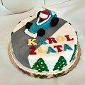 Wyścigówka dla karola #samochód #wyścigówka #tort z #samochodem #tort #okazjonalny #tort