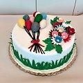 Baloniki dla dziewczynek #Bakoniki #tort z #balonikami #tort #okazjonalny #tort #dla #dzieci #tort #torty #baloniki