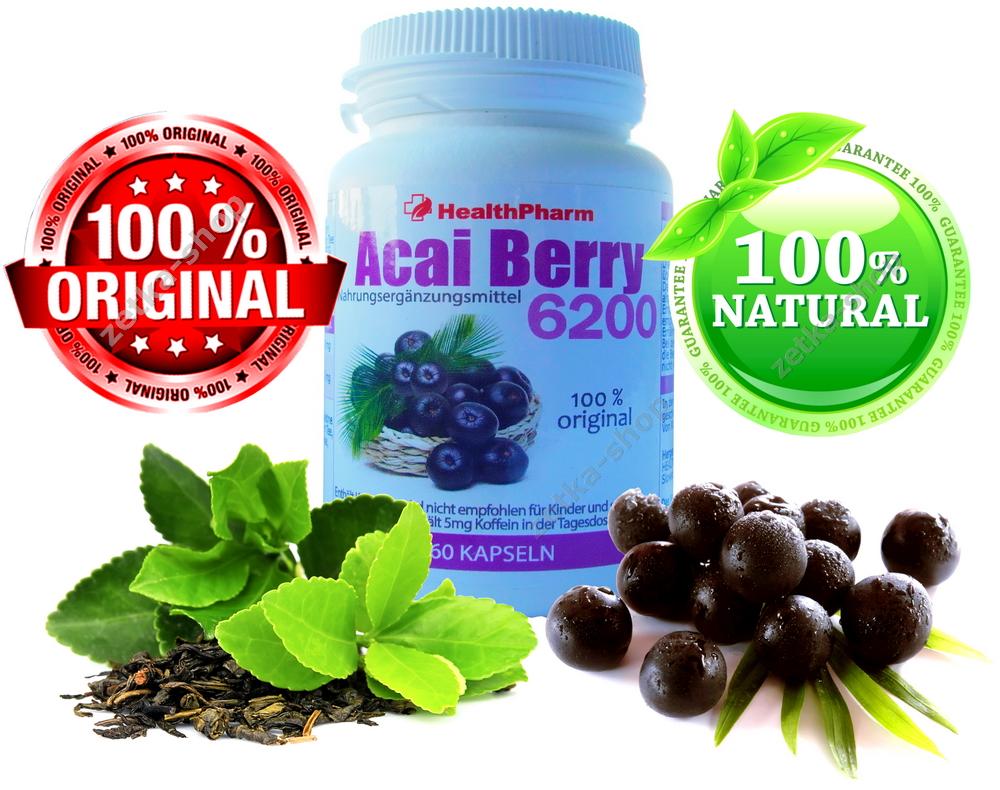60 kapseln brazilian acai berry 21000 mg gr ne tee. Black Bedroom Furniture Sets. Home Design Ideas